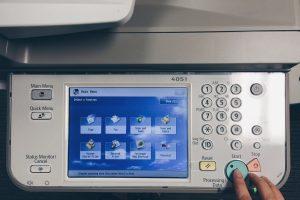 panel drukarki